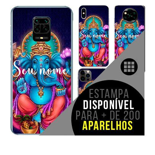 Capa de celular personalizada com nome - todos aparelhos - ganesha  hinduismo