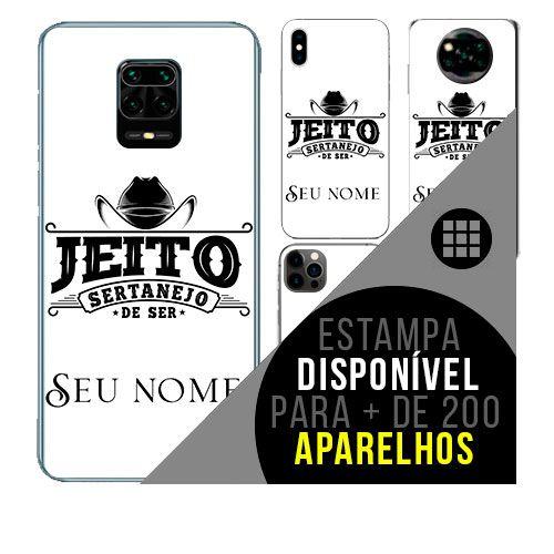 Capa de celular personalizada com nome - todos aparelhos - Sertanejo 2