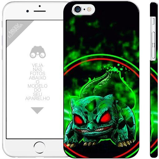 POKÉMON - bulbasaur 2  |  apple - motorola - samsung - sony - asus - lg | capa de celular