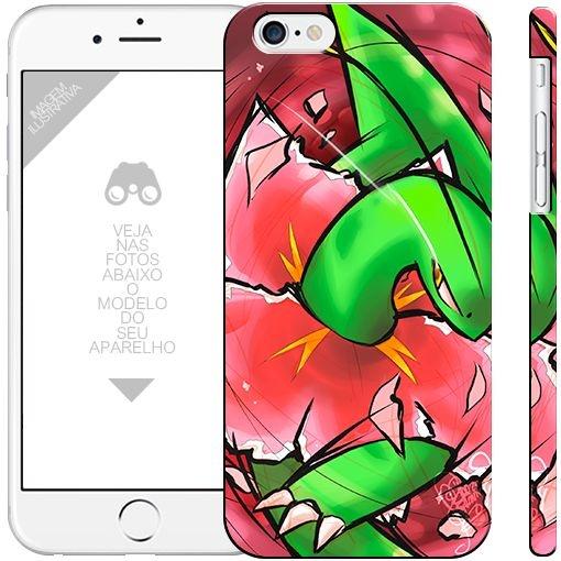 POKÉMON  - Meganium  |  apple - motorola - samsung - sony - asus - lg | capa de celular