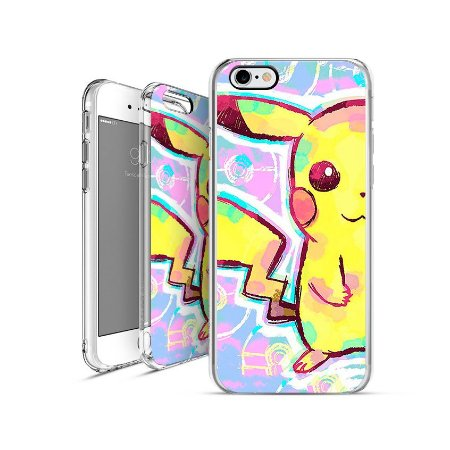 POKÉMON Pikachu 00003     apple - motorola - samsung - sony - asus - lg   capa de celular