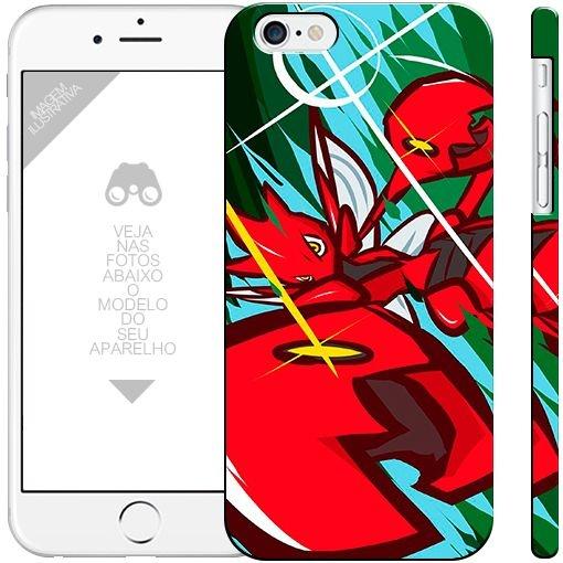 POKÉMON  Scizor 000001  |  apple - motorola - samsung - sony - asus - lg | capa de celular