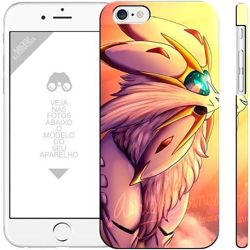 POKÉMON - Solgaleo 001  |  apple - motorola - samsung - sony - asus - lg | capa de celular