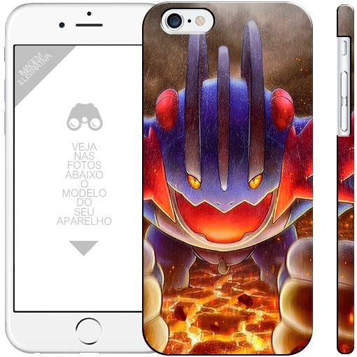 POKÉMON - SWAMPERT 001     apple - motorola - samsung - sony - asus - lg   capa de celular