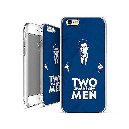 TWO AND A HALF MEN   apple - motorola - samsung - sony - asus - lg capa de celular