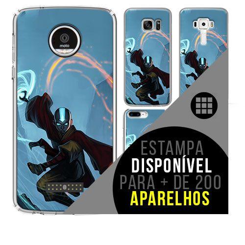 Capa de celular - A LENDA DE AANG [disponível para + de 200 aparelhos]
