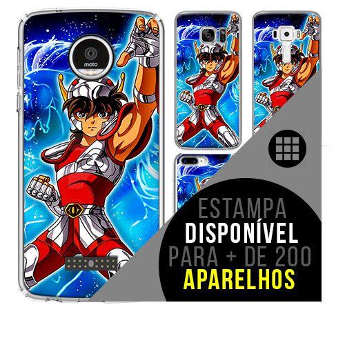 Capa de celular - CAVALEIROS DOS ZODÍACOS 3 [disponível para + de 200 aparelhos]
