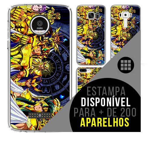 Capa de celular - CAVALEIROS DOS ZODÍACOS 4 [disponível para + de 200 aparelhos]