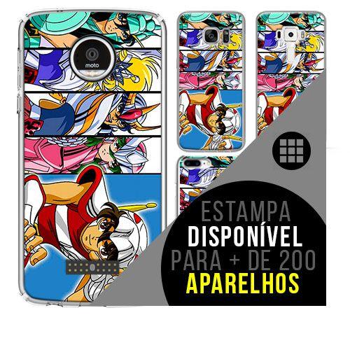 Capa de celular - CAVALEIROS DOS ZODÍACOS 8 [disponível para + de 200 aparelhos]
