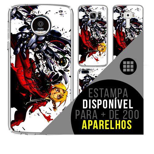 Capa de celular - FULLMETAL ALCHEMIST 45 [disponível para + de 200 aparelhos]