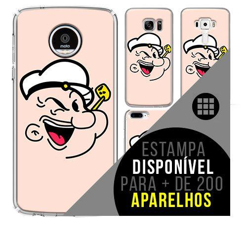 Capa de celular - Popeye [disponível para + de 200 aparelhos]