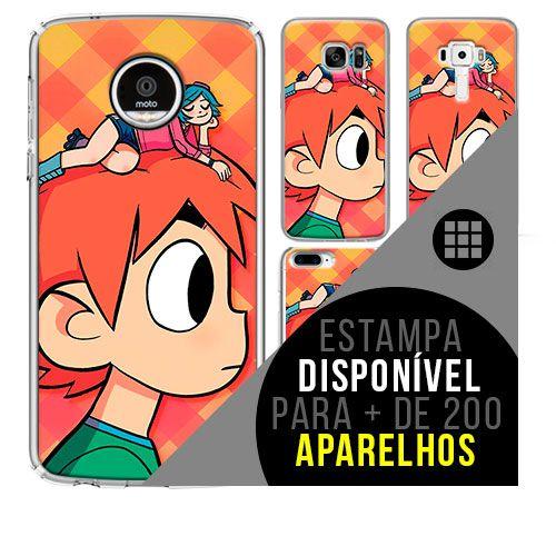 Capa de celular - scott-pilgrim [disponível para + de 200 aparelhos]