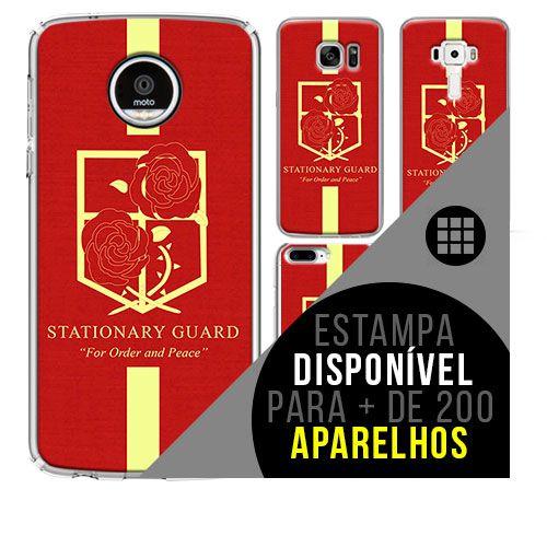 Capa de celular - SHINGEKI NO KYOJIN 15 [disponível para + de 200 aparelhos]