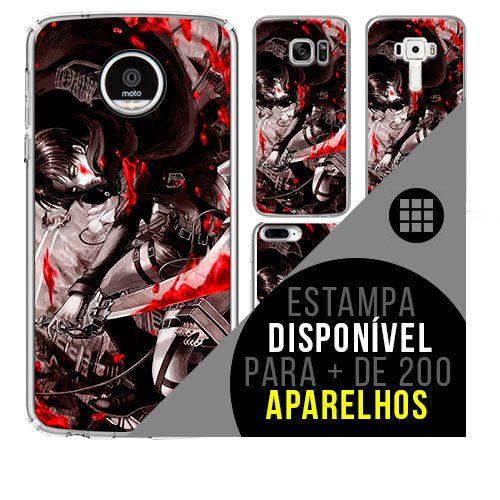 Capa de celular - SHINGEKI NO KYOJIN 13 [disponível para + de 200 aparelhos]