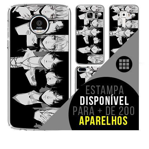 Capa de celular - SHINGEKI NO KYOJIN 31 [disponível para + de 200 aparelhos]