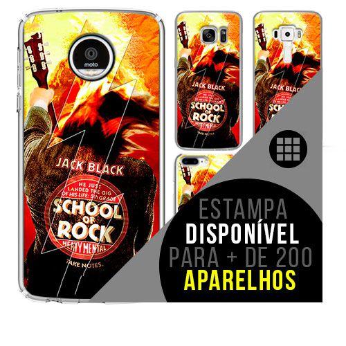 Capa de celular - ESCOLA DO ROCK [disponível para + de 200 aparelhos]