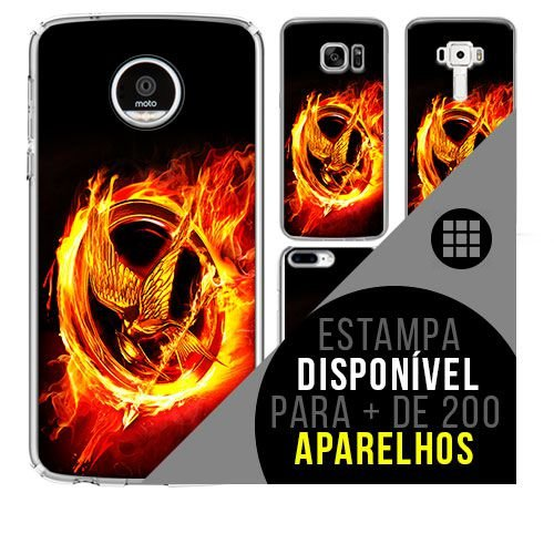 Capa de celular - JOGOS VORAZES [disponível para + de 200 aparelhos]