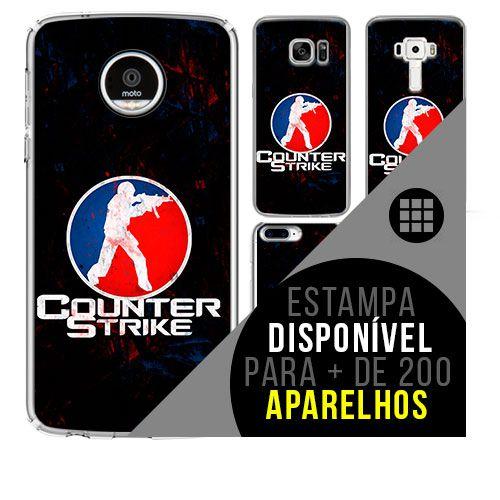 Capa de celular - COUNTER-STRIKE [disponível para + de 200 aparelhos]