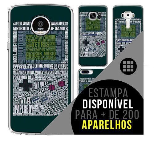 Capa de celular - GAME BOY [disponível para + de 200 aparelhos]