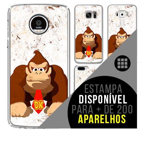 Capa de celular - DONKEY KONG [disponível para + de 200 aparelhos]