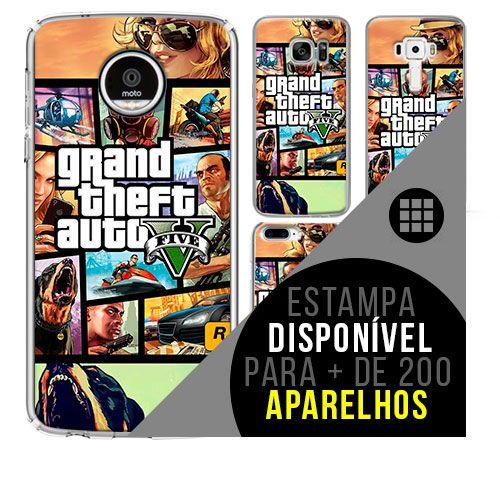 Capa de celular - GTA [disponível para + de 200 aparelhos]