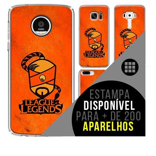 Capa de celular - LEAGUE OF LEGENDS 12 [disponível para + de 200 aparelhos]