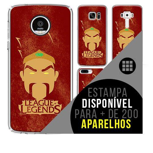 Capa de celular - LEAGUE OF LEGENDS 4 [disponível para + de 200 aparelhos]