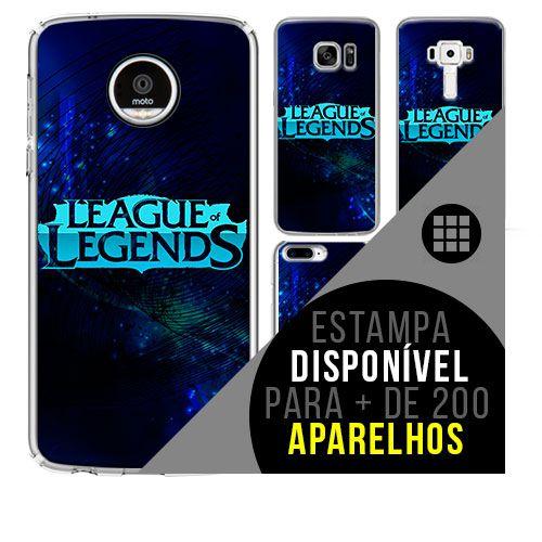 Capa de celular - LEAGUE OF LEGENDS 8 [disponível para + de 200 aparelhos]