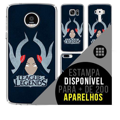 Capa de celular - LEAGUE OF LEGENDS 9 [disponível para + de 200 aparelhos]