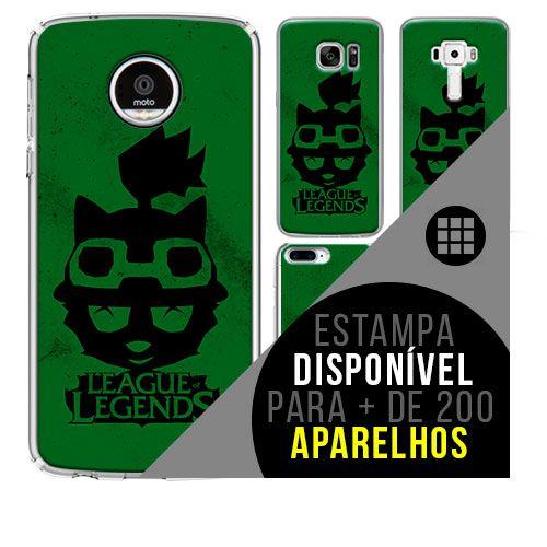 Capa de celular - LEAGUE OF LEGENDS 13 [disponível para + de 200 aparelhos]