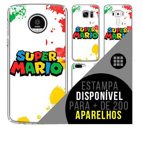 Capa de celular - MARIO BROS [disponível para + de 200 aparelhos]