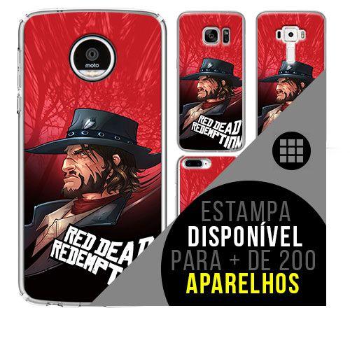 Capa de celular - RED DEAD REDEMPTION [disponível para + de 200 aparelhos]