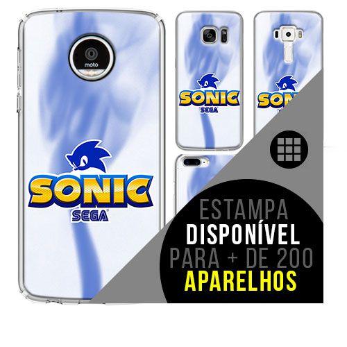 Capa de celular - SONIC 3 [disponível para + de 200 aparelhos]