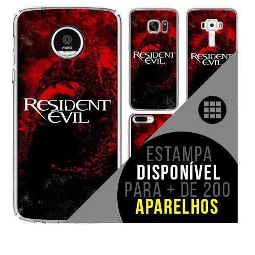 Capa de celular - RESIDENT EVIL 3 [disponível para + de 200 aparelhos]