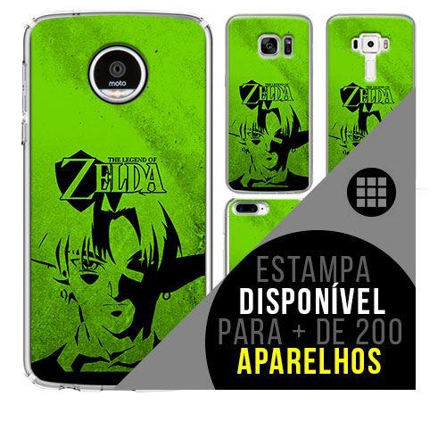Capa de celular - THE LEGEND OF ZELDA [disponível para + de 200 aparelhos]