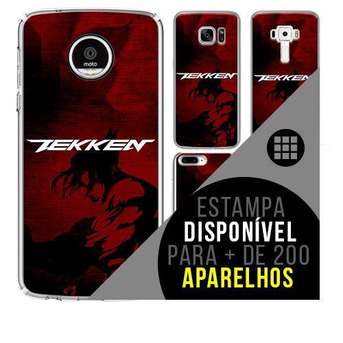 Capa de celular - TEKKEN [disponível para + de 200 aparelhos]
