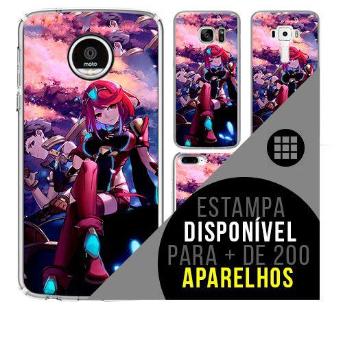 Capa de celular - Xenoblade 2 [disponível para + de 200 aparelhos]
