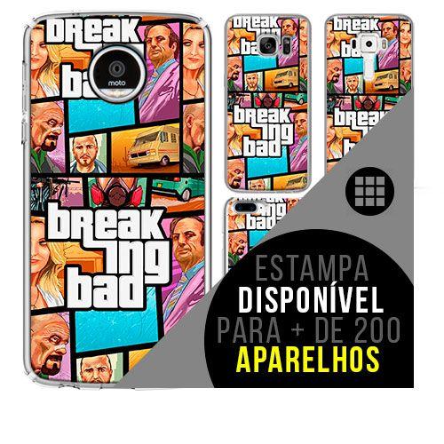 Capa de celular - BREAKING BAD 4 [disponível para + de 200 aparelhos]