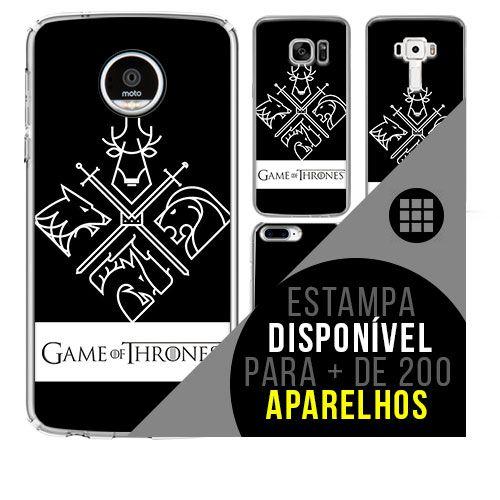 Capa de celular - GAME OF THRONES 12 [disponível para + de 200 aparelhos]