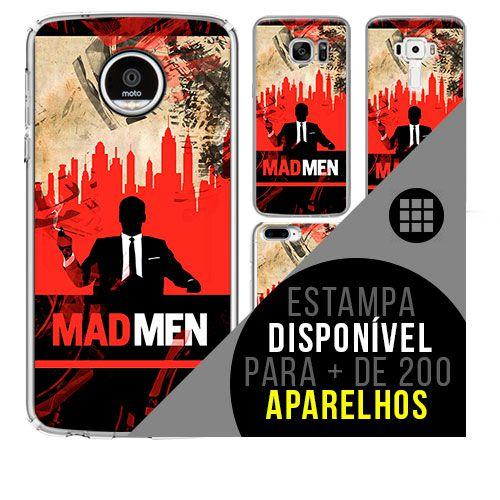 Capa de celular - MAD MEN [disponível para + de 200 aparelhos]