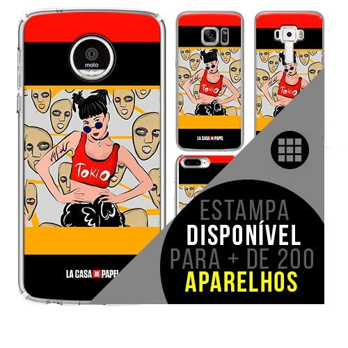 Capa de celular - LA CASA DE PAPEL 11[disponível para + de 200 aparelhos]