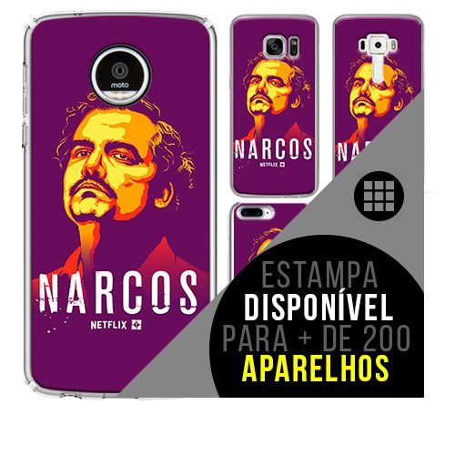 Capa de celular - NARCOS [disponível para + de 200 aparelhos]