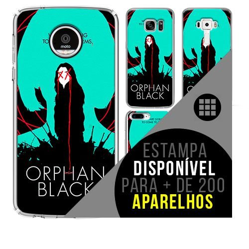 Capa de celular -  ORPHAN BLACK [disponível para + de 200 aparelhos]