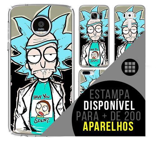 Capa de celular - Rick and Morty 4 [disponível para + de 200 aparelhos]