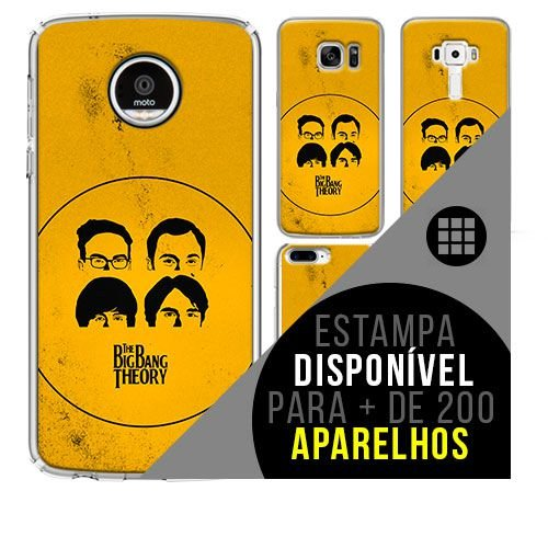 Capa de celular - THE BIG BANG OF THEORY [disponível para + de 200 aparelhos]
