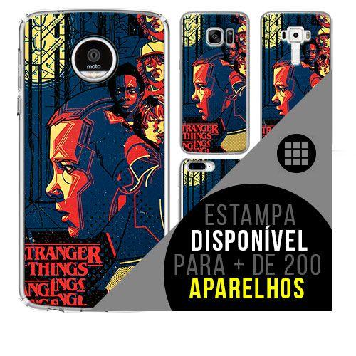 Capa de celular - STRANGERS THINGS 9 [disponível para + de 200 aparelhos]