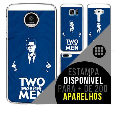 Capa de celular - Two and a Half Men [disponível para + de 200 aparelhos]