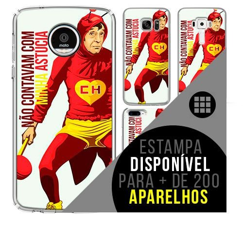 Capa de celular - CHAPOLIN [disponível para + de 200 aparelhos]