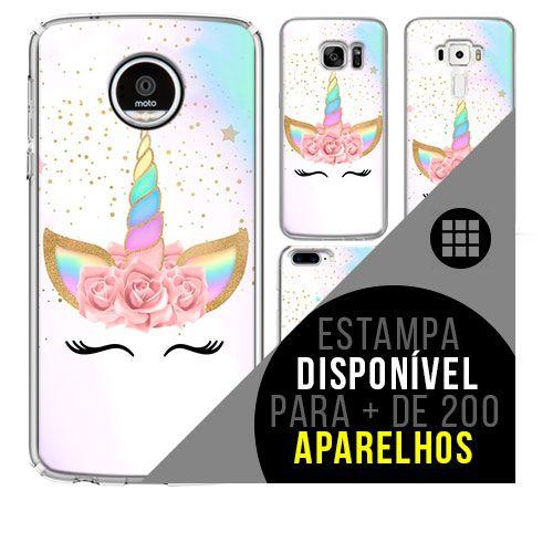 Capa de celular - Unicórnio [disponível para + de 200 aparelhos]