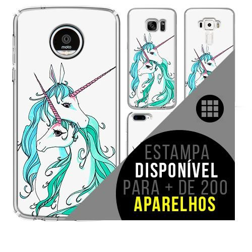 Capa de celular - Unicórnio 15 [disponível para + de 200 aparelhos]